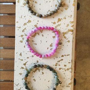 Jewelry - Lot of 3 Beaded Bracelets
